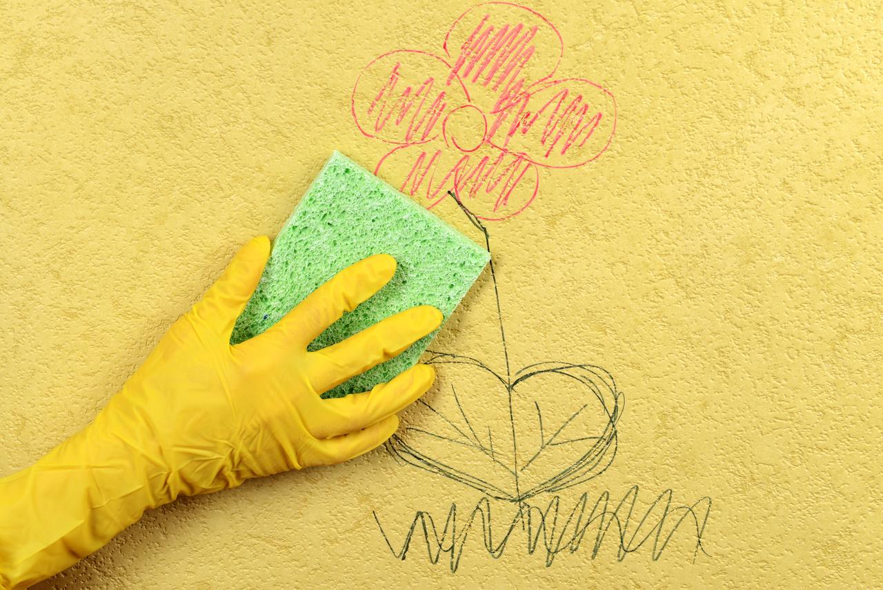 Wischfeste Farbe   Im Kinderzimmer Eine Prima Idee! ...